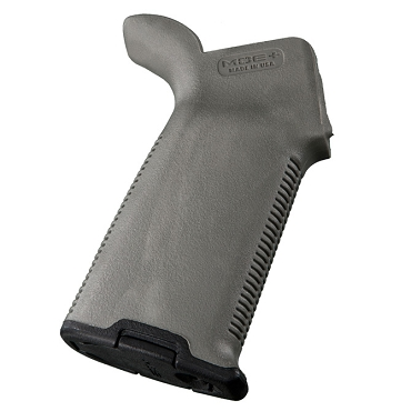 Magpul MOE+ AR15 Rubber Grip Gray