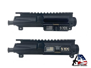 9mm with USA Flag Ejection Port Cover